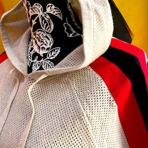 *BOGO ITEM*  Perforated Color-Blocked Hoodie